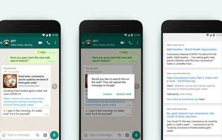 WhatsApp rolls out new feature for users to fact-check forwarded messages