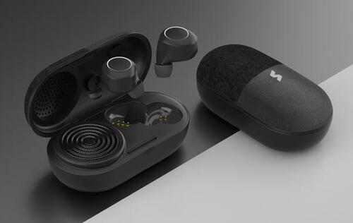 The Vissles 2-in-1 Music Pill is a true wireless earbud that doubles up as a portable speaker