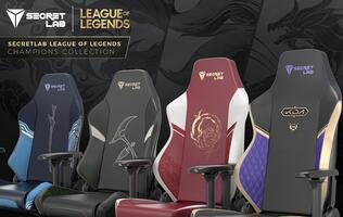 Secretlab is releasing an exclusive League of Legends gaming chair collection