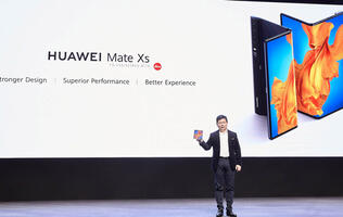 The Huawei Mate X2 may come with an inward folding display