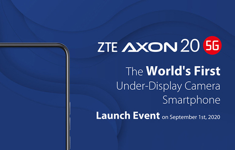 ZTE gears up for the launch of its 5G-ready, under-display camera smartphone