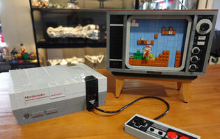 The LEGO Nintendo Entertainment System set is a fantastic tribute to retro gaming