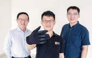 "We checked out the new ""Infinity"" gaming glove developed by National University of Singapore"