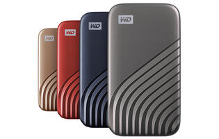 Western Digital's new portable SSD has nearly double the speed of its predecessors