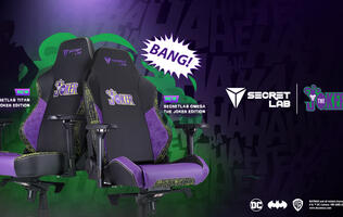 Secretlab's new Joker-themed gaming chair invites you to put on a happy face
