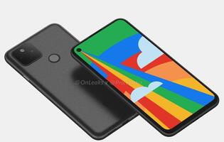 Purported Google Pixel 5 renders reveal dual rear cameras and fingerprint sensor