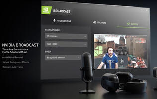 NVIDIA's Broadcast app makes it even easier to start streaming