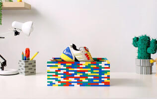 Adidas is partnering with LEGO to make a special pair of sneakers