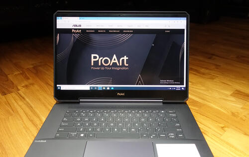 First Looks: ASUS' ProArt StudioBook One is the world's first notebook with a Quadro RTX 6000