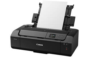 The Canon Pixma Pro-200 is an A3+ printer for photographers who print their own photos