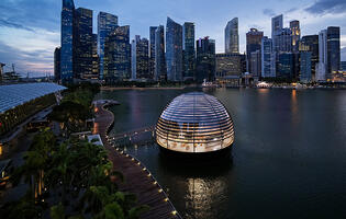 Apple's Marina Bay Sands store officially opens on 10 September 2020