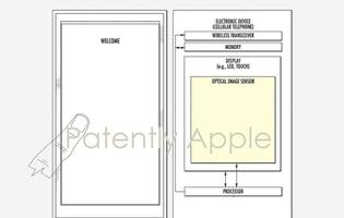 Apple is awarded another patent for an under-display Touch ID sensor