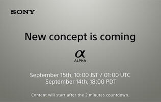 Sony might be launching a compact full-frame camera on Sep 15