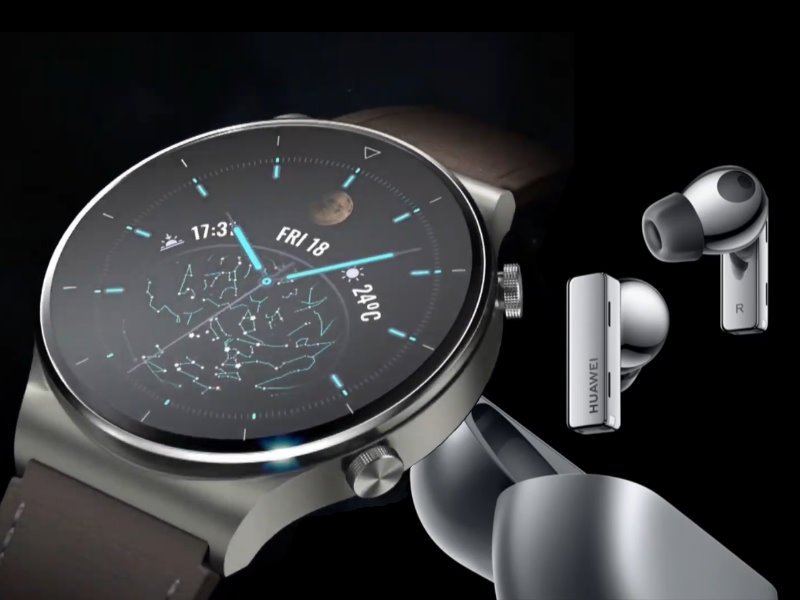 "Huawei Watch GT 2 smartwatch, FreeBuds and FreeLace earphones go ""Pro"" with updated features"