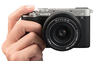 The new Sony A7C is a super-compact 24MP full-frame mirrorless camera