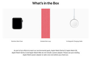 PSA: Apple no longer packs a USB power adapter with the Apple Watch