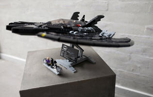 Tim Burton's Batman returns in LEGO form with the new 1989 Batwing set