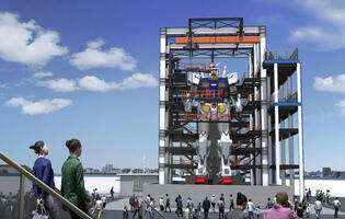 Watch Japan's 18-metre life-sized Gundam move in a series of motion tests