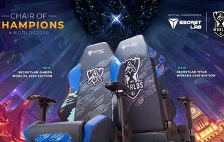Pick up the pentakill with Secretlab's Worlds 2020 Edition gaming chairs