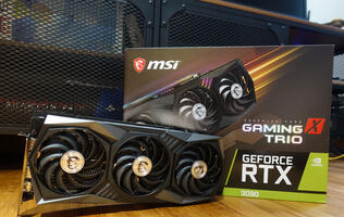 Performance preview: The MSI GeForce RTX 3090 Gaming X Trio 24G