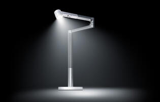 Dyson's new Lightcycle Morph lamp is a smart lamp that melds versatility and style