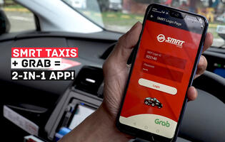 SMRT taxi drivers will get enhanced Grab Driver app to replace display units