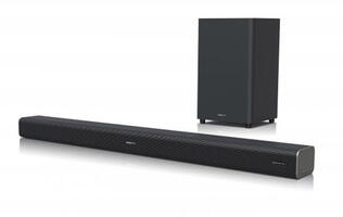 Sharp's affordable HT-SBW460 Dolby Atmos soundbar is now in stores