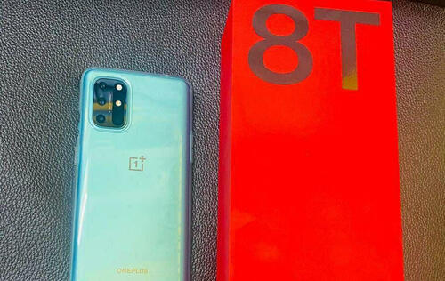 Image of article 'Early OnePlus 8T model in Aquamarine Green leaked by tipster'