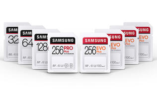 The Samsung Pro Plus SD card offers up to 100MB/s read speeds and 90MB/s write speeds