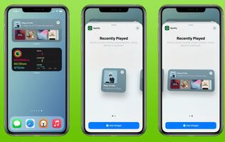 Spotify updates app to support home screen widgets on iOS 14