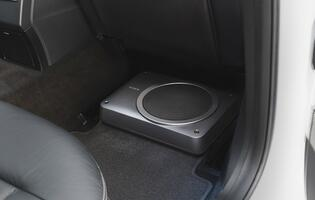 Get your car to drop the bass with Sony's new compact XS-AW8 powered subwoofer