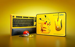 Razer's range of limited-edition Pokemon gaming accessories looks pika-perfect