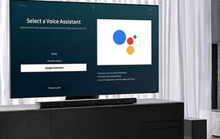 Select Samsung TVs starting to get native Google Assistant integration