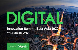 Schneider Electric's Innovation Summit East Asia 2020 takes place on 4th November