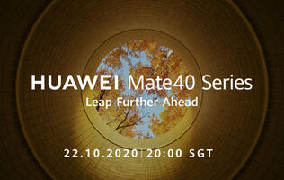 Sign up for the Huawei Mate 40 Series global launch live stream here