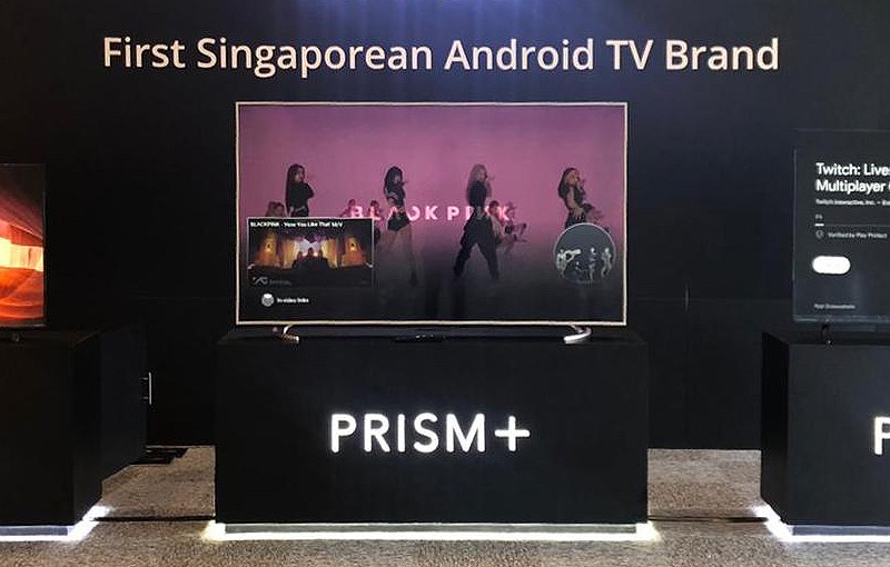Prism+ pushes out new 4k TV range with Android OS