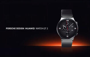 Huawei goes for top marques with the Porsche design Huawei Watch GT 2