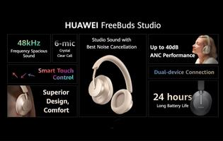 From earbuds, Huawei encases the ears in comfort with the Huawei FreeBuds Studio *Updated*