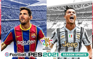 Pro Evolution Soccer 2021's Data Pack 2.0 adds a ton of content to the game