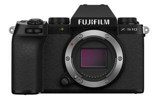 Fujifilm's new X-S10 camera has a redesigned grip, PSAM dial, articulating screen, and IBIS