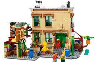 LEGO's new Sesame Street set looks massive and wonderfully detailed