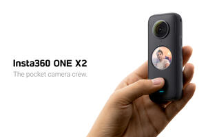 Enjoy 360° of fun with the new Insta360 One X2