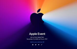 "Apple announces ""One more thing"" event for 10 Nov"
