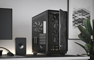 The Fractal Meshify 2 cases make cable management a breeze