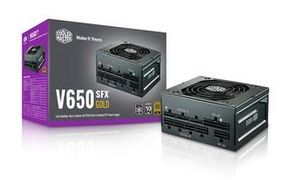 Cooler Master launches mini-ITX V Gold SFX series power supplies