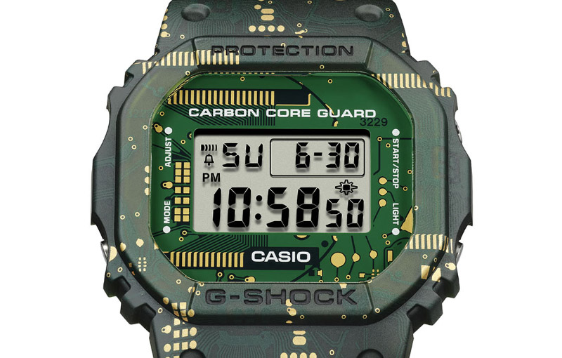 Meet the G-Shock DWE-5600CC that's inspired by circuit boards