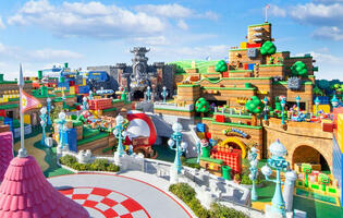Japan's Super Nintendo World theme park will open its doors in February 2021