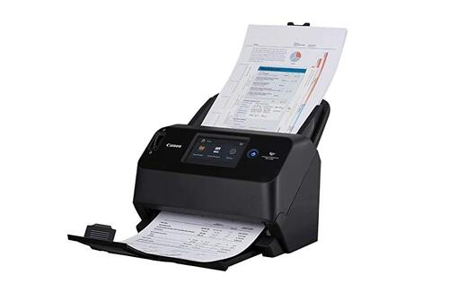 Enjoy PC-less scanning with the Canon imageFORMULA DR-S150