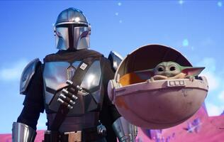 The Mandalorian and Baby Yoda have landed in Fortnite for Season 5