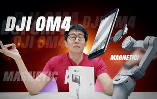 DJI OM4 video review - Does the magnet make the gimbal?